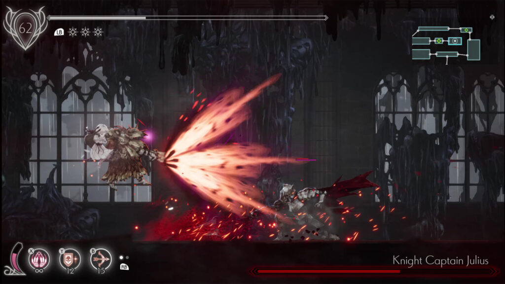 ENDER LILIES boss fight image