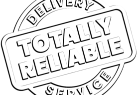 Totally Reliable Delivery Service Brings a Huge Update Package to Your Door!