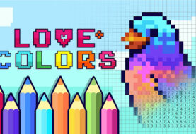 Family Friendly Pixel Art Game 'Love Colors' and Its DLCs Announced on Nintendo Switch!