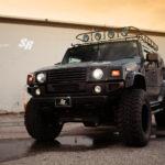 Hummer H2 STARR HID USA projector headlights