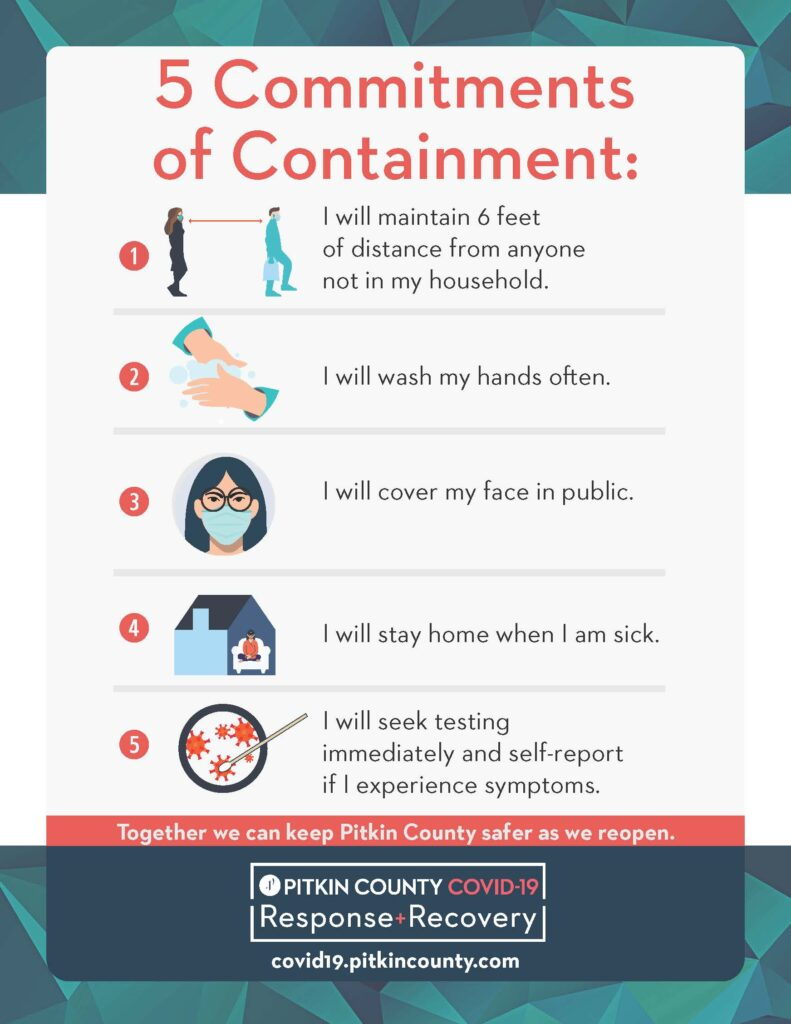 5 commitments to containment english flyer