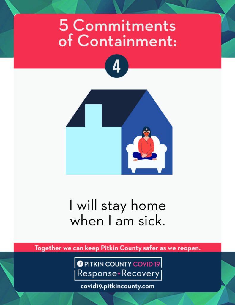 safer at home flyer