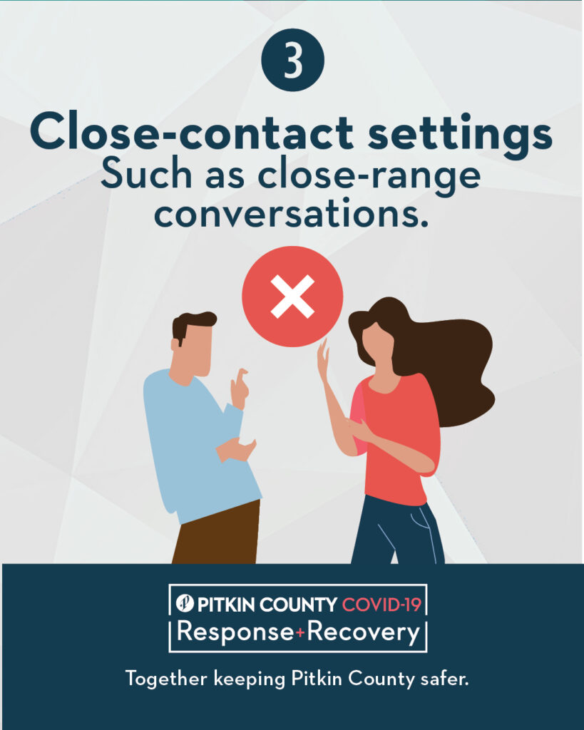 Close-contact setting Flyer