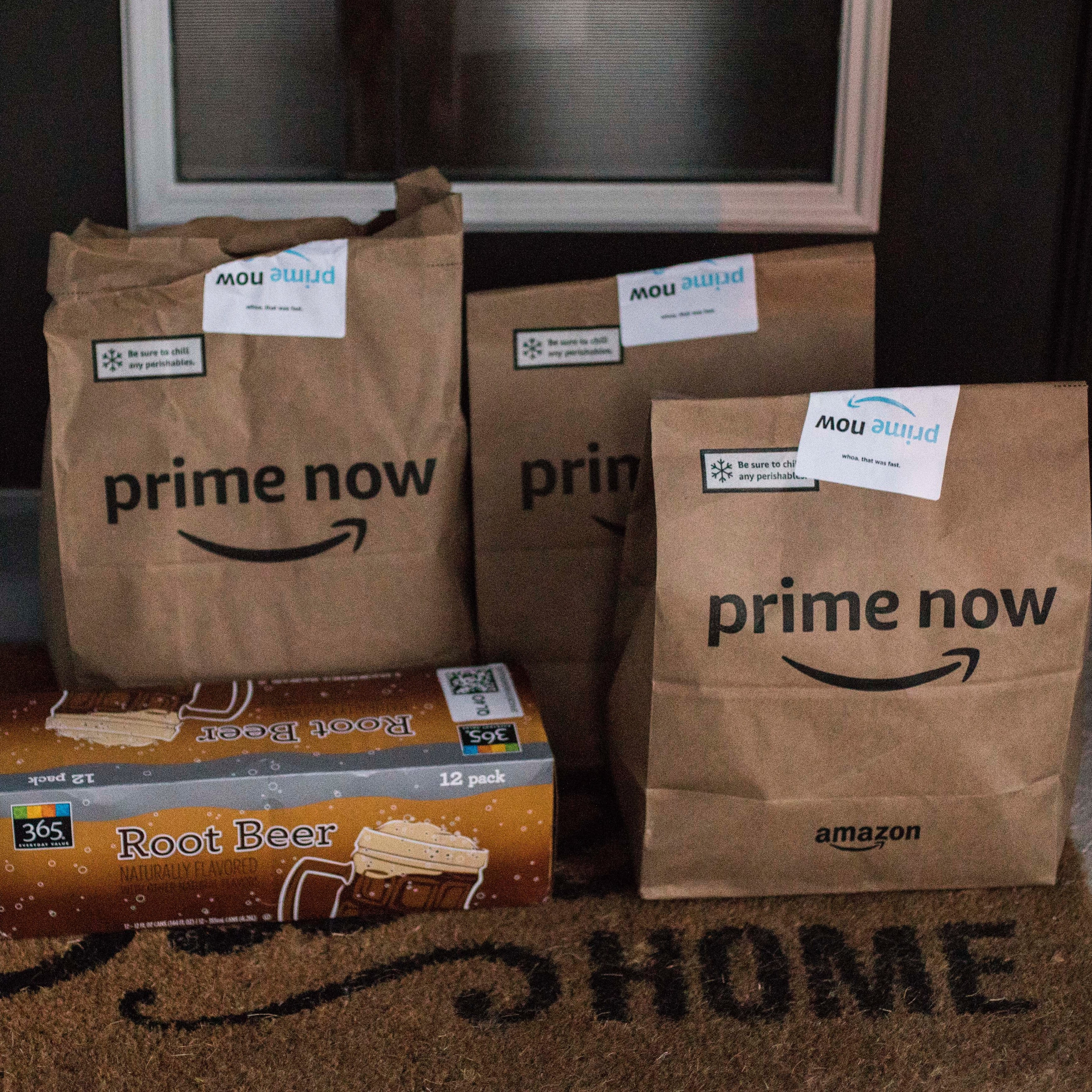 Grocery Delivery with Prime Now
