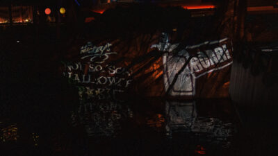 Mickeys Not So Scary Halloween Party Projection