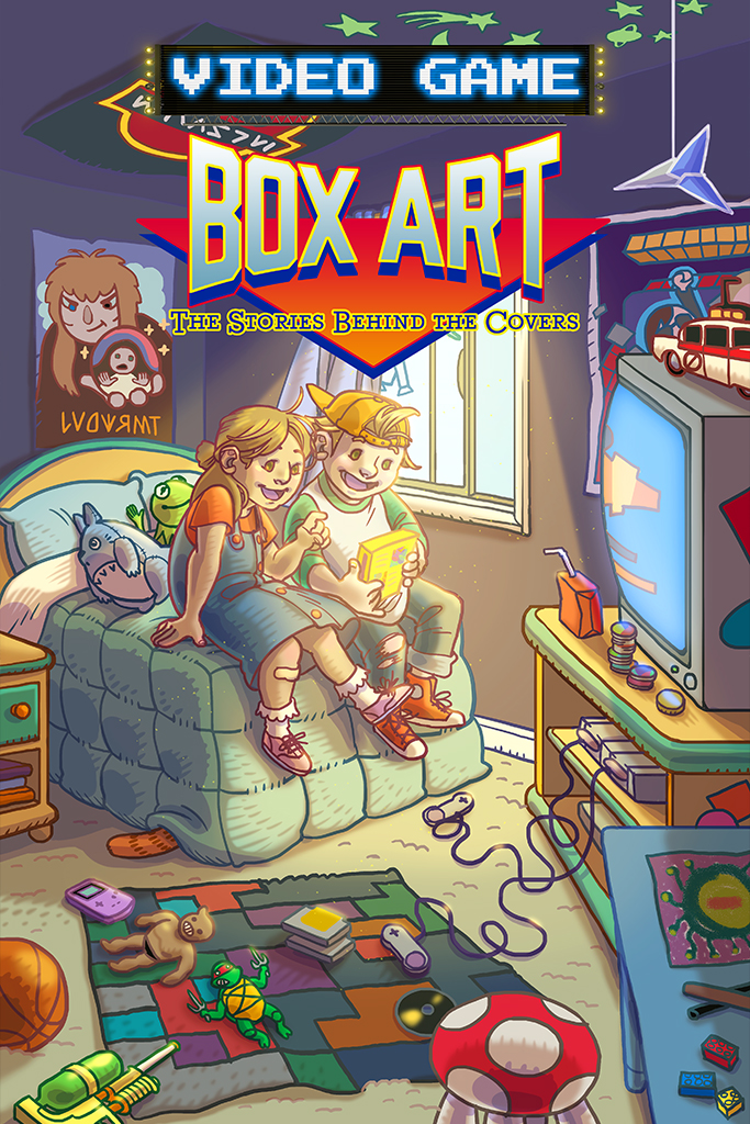 Video Game Box Art