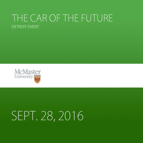 Past Event – The Car of the Future – Detroit Event
