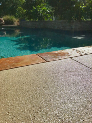 Hallmark System - Poolside Basic with Stone Border