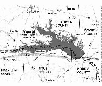 Proposed Marvin Nichols Reservoir