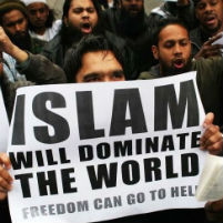 Islam will dominate the world. Freedom can go to hell.