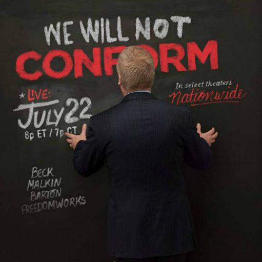 Glenn Beck's 'We Will Not Conform'