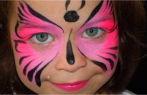 NCLF- Butterfly Face Paint