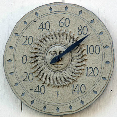 Outdoor Thermometer Mid 80s