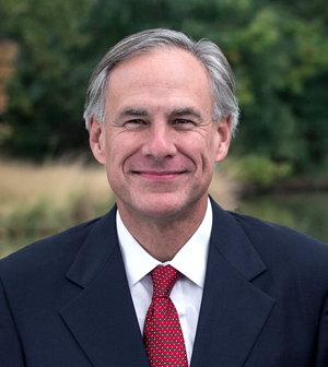 TX Governor Greg Abbott