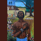 Free At Last by Ted Ellis on display at the US Senate Building in Washington DC from June 15-19 2015.