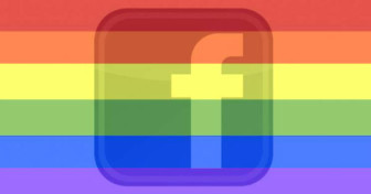 Facebook Gay Pride Filter