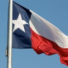 TX Flag Blowing