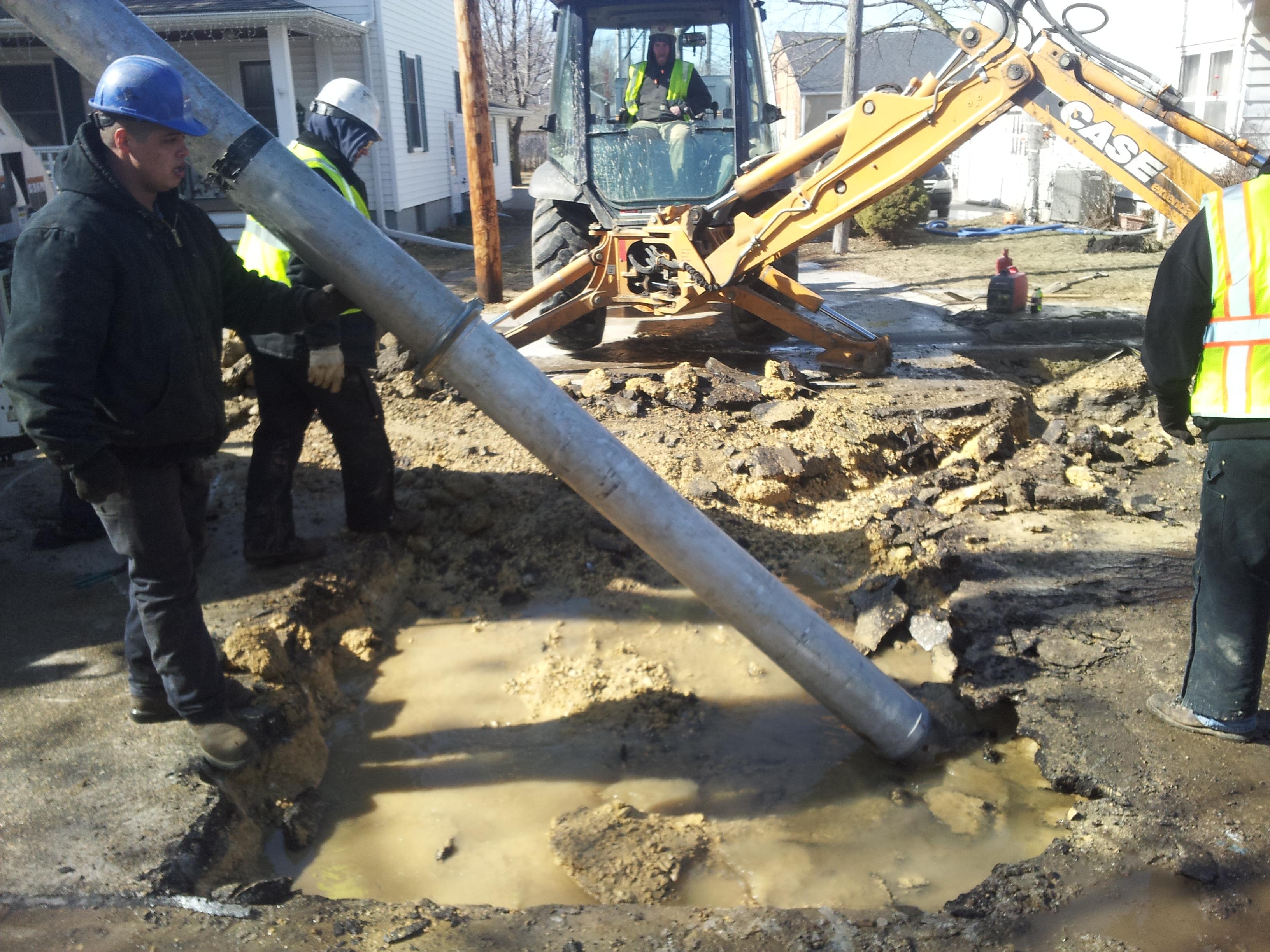 excavation services cedar rapids iowa city dubuque brecke