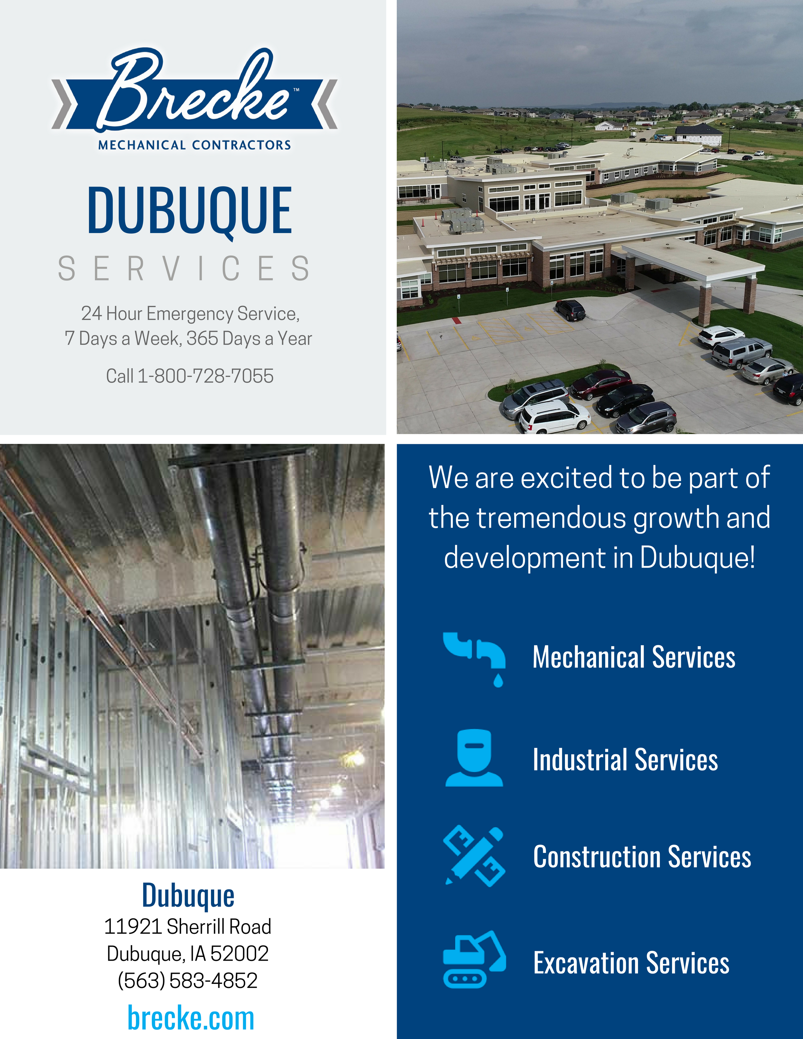 Dubuque Services Line Card
