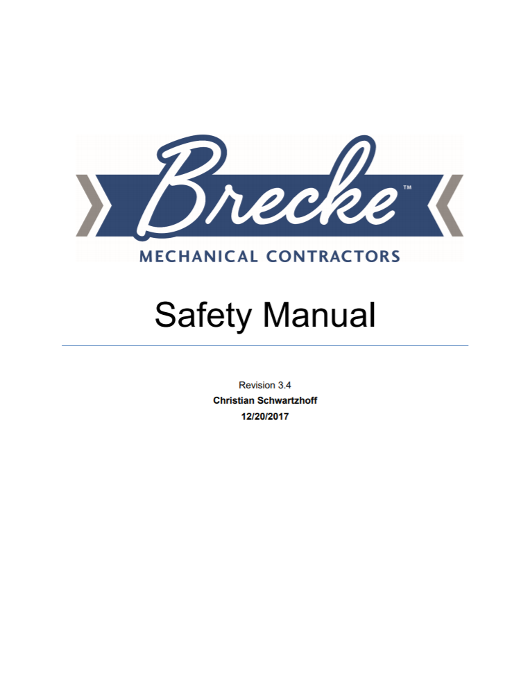 Safety Manual image