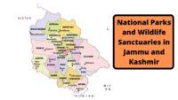National Parks And Wildlife Sanctuaries In Jammu & Kashmir
