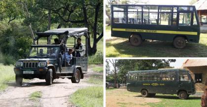 Jeep And Canter Safari At Bandipur