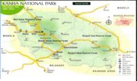 Gates And safari Zones Of Kanha
