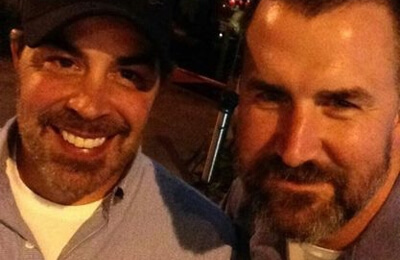 Tom with Greg Goodrich