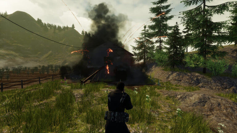 WolfRun objective destroyed