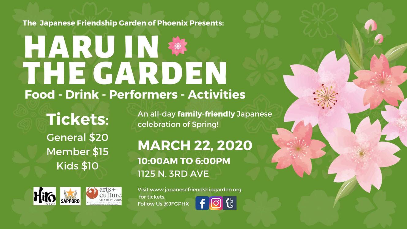 Haru In The Garden - A Spring Celebration