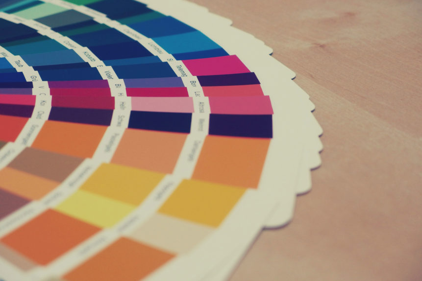 Logo color swatch