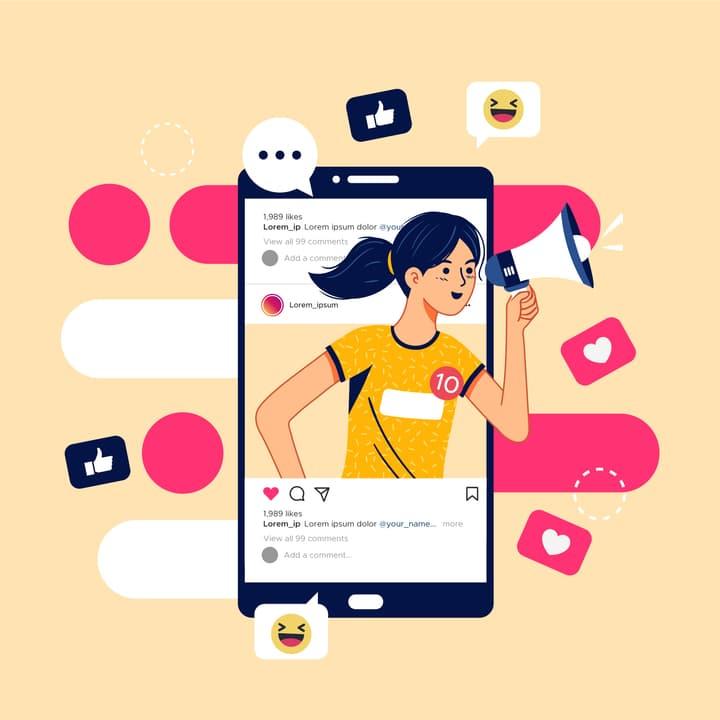 social media ad campaign