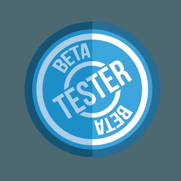 Beta Tester Badge!