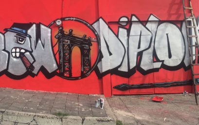 New Subculture Wall in Esteli Town Center!