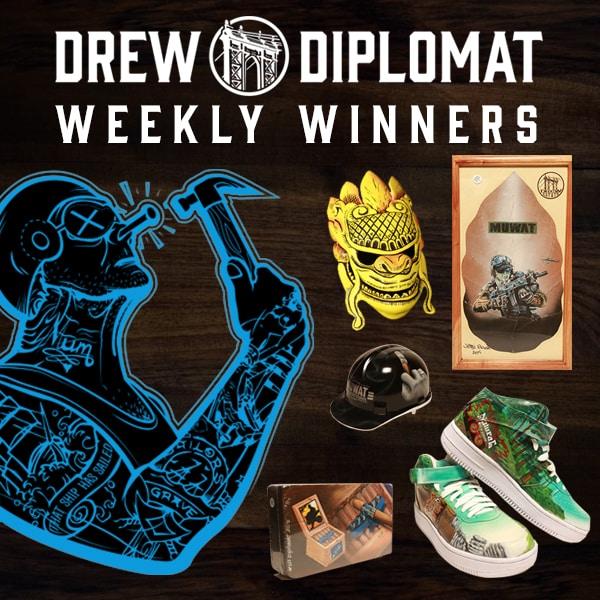 This Weeks Winners!