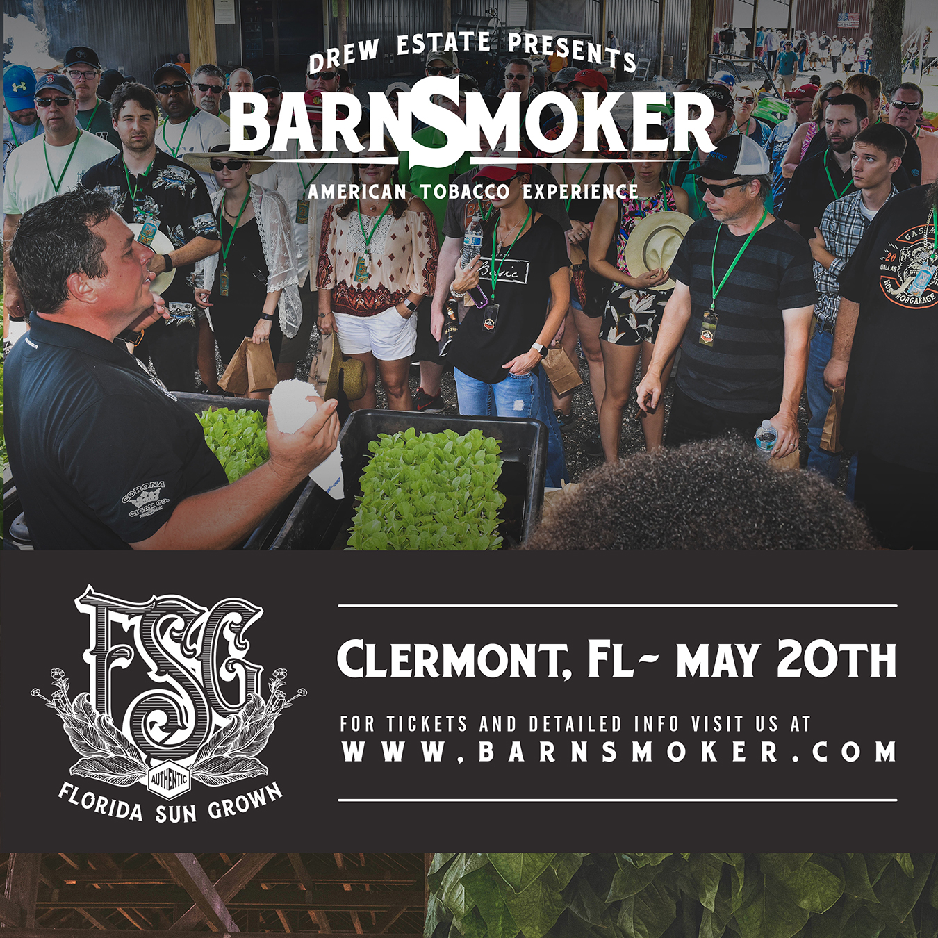 Florida Barn Smoker Tickets Now on Sale!