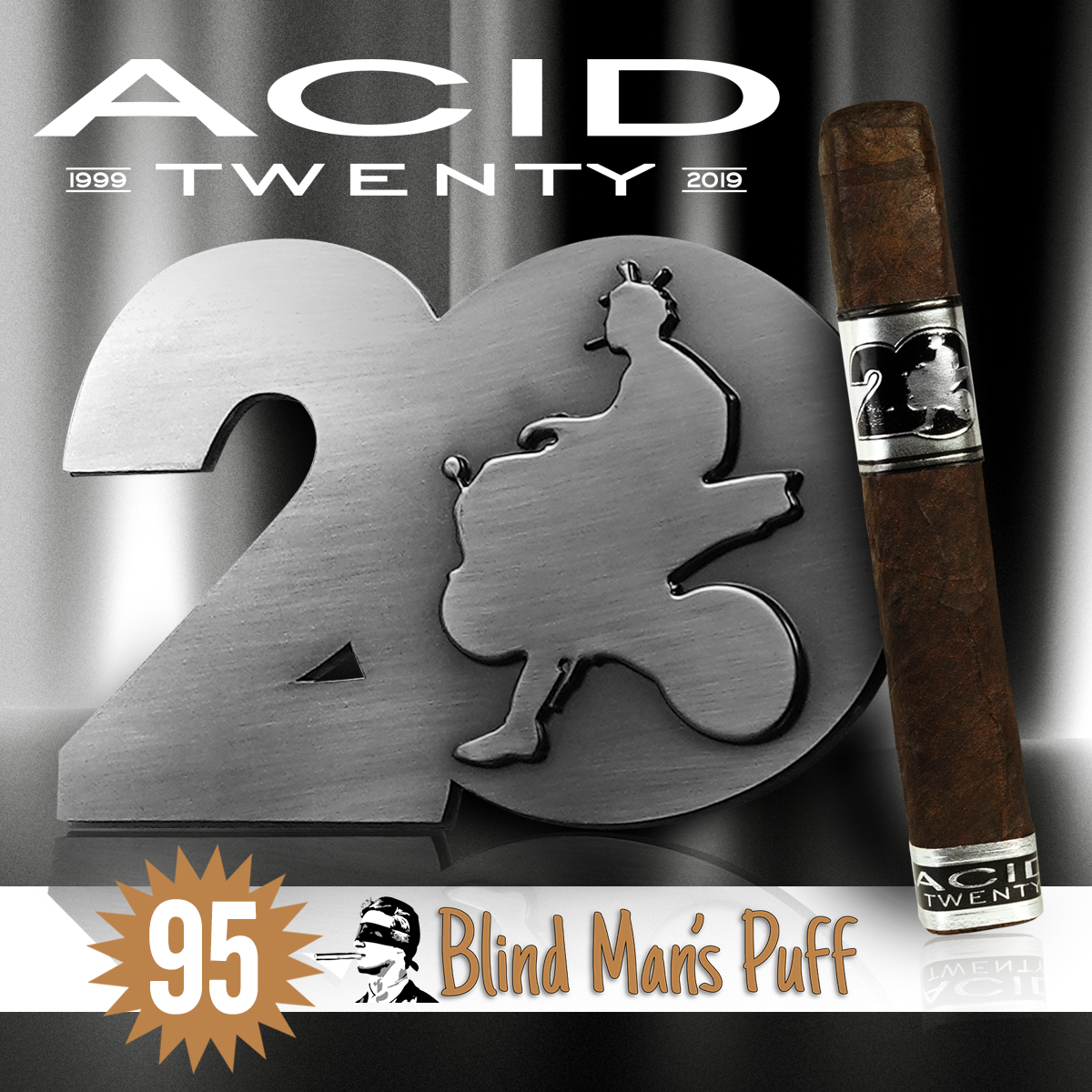 ACID 20 Earns an Ecstatic 95 Rating from Blind Man's Puff!