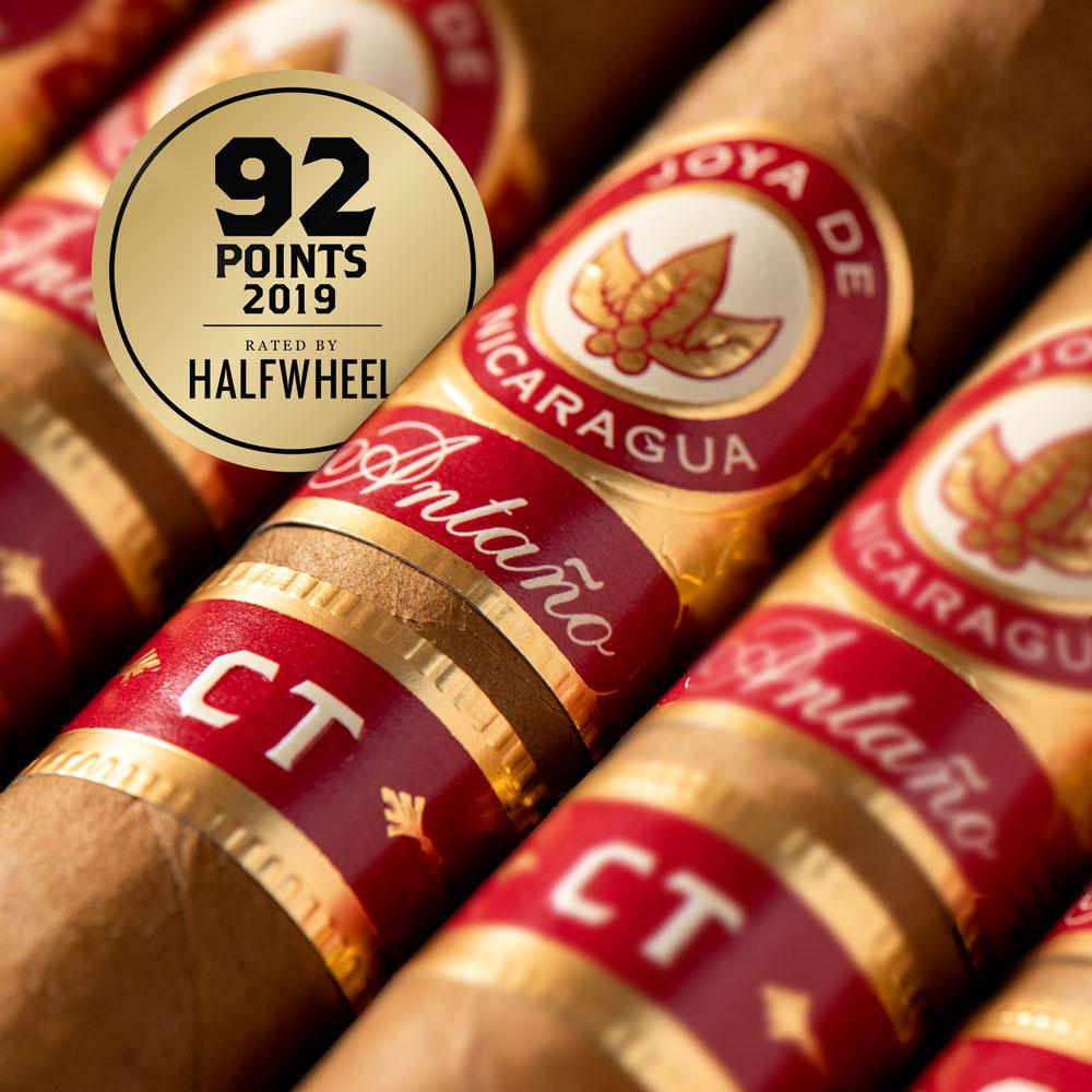 Joya de Nicaragua Antano CT Scores a 92 Rating From halfwheel