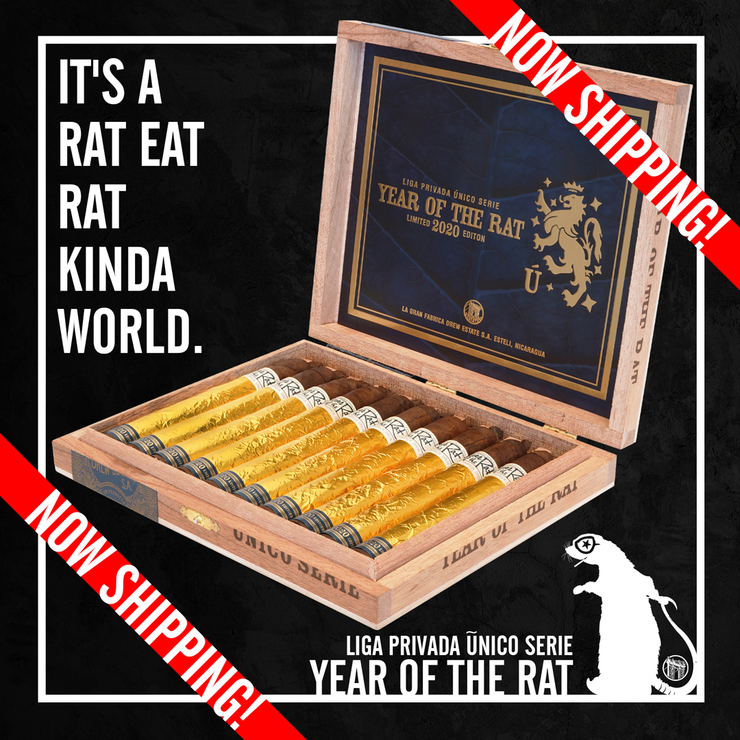 "Liga Privada Unico ""Year of the Rat"" Heads to Drew Diplomat Retailer Virtual Events"