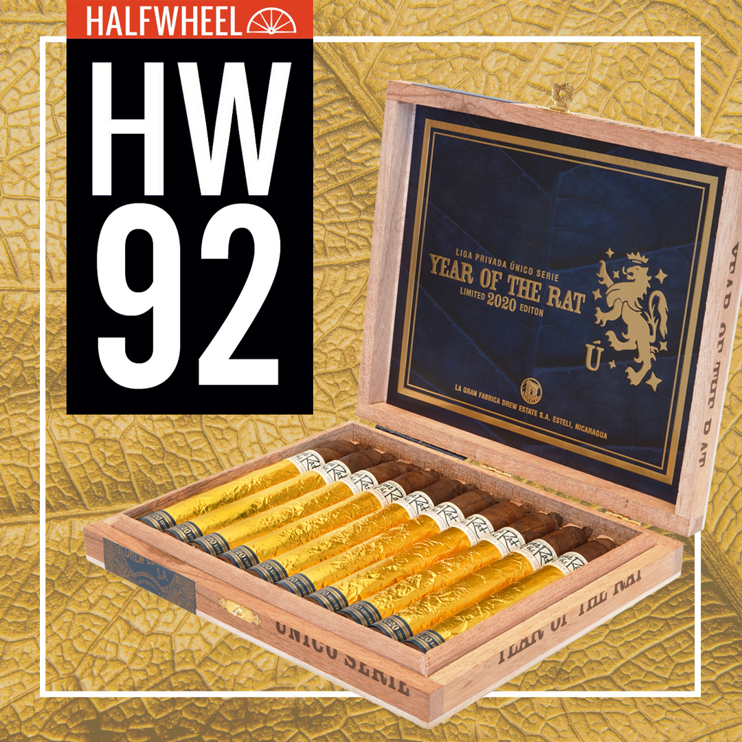 halfwheel Loves the Liga Privada Unico Year of the Rat with 92 Rating!