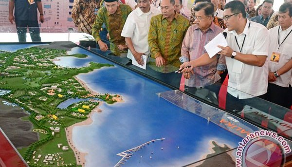 Mandalika Resorts Pullman Hotel ground breaking ceremony.