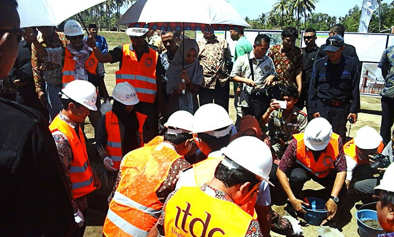 Groundbreaking ceremony for new Mosque desing to increase Mandalika Halal Tourism