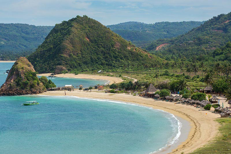Photo of Kuta Beach location of the X2, New Mandalika Hotel with 4 stars..