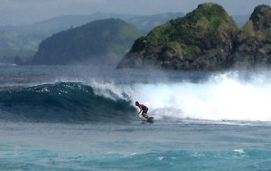 Surfing Lombok Mawi Rights