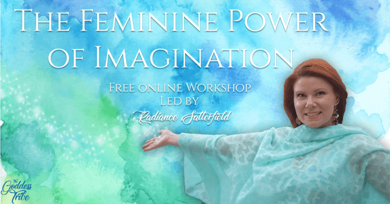 Free online event - the feminine power of imagination