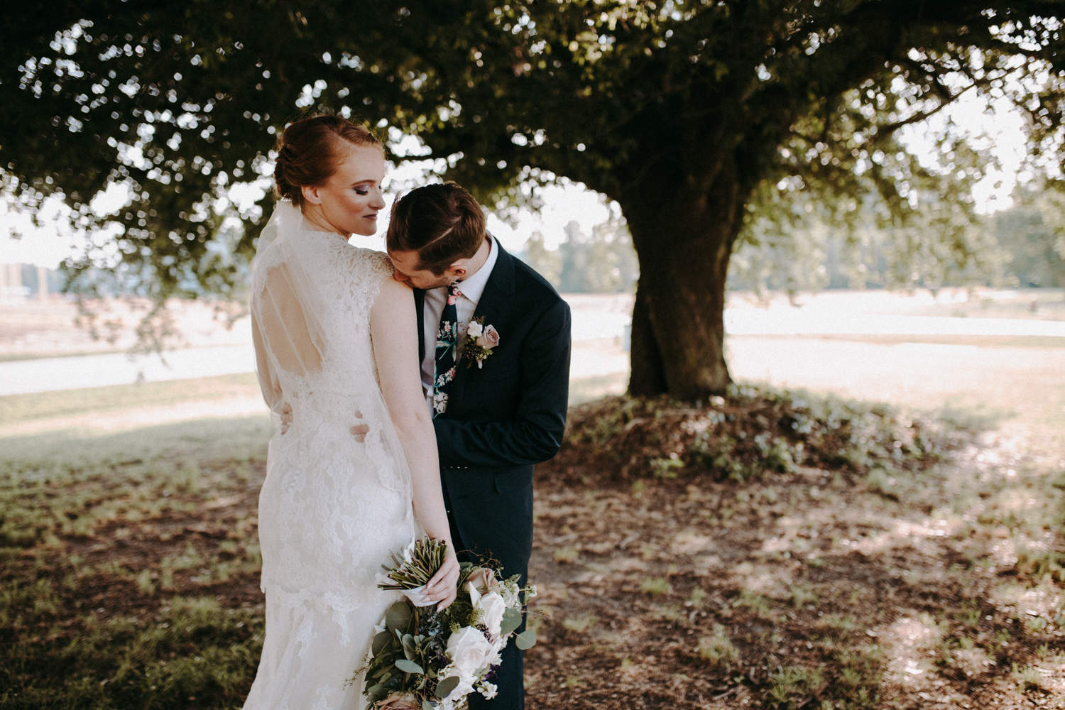 Farm House North Carolina Wedding: Tiffany & Evan