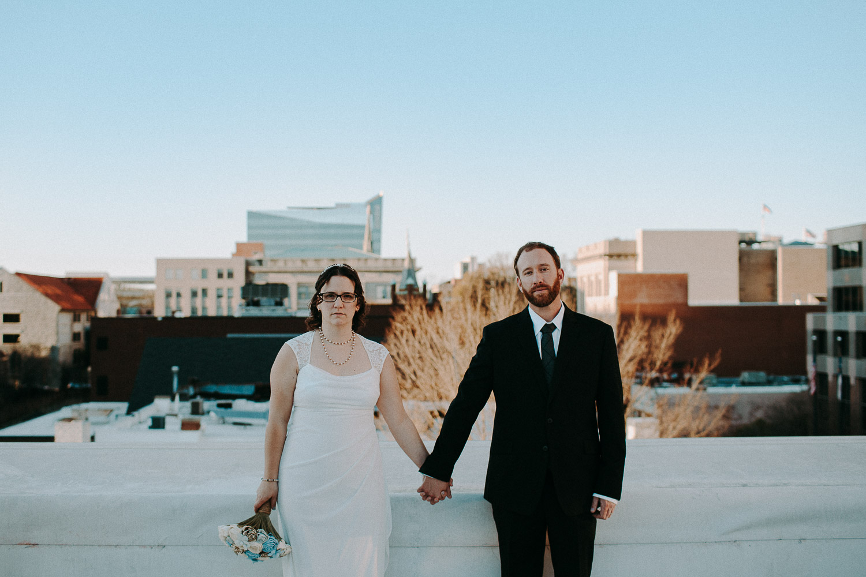 The Bridge Club/ Raleigh, North Carolina Wedding: Amber & Mike