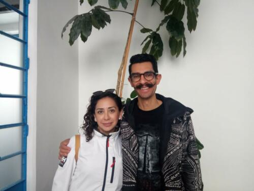 <p><b> 26 de noviembre de 2019  </b></p><p> Naivi Sánchez y Sergio Olavarrieta.</p>