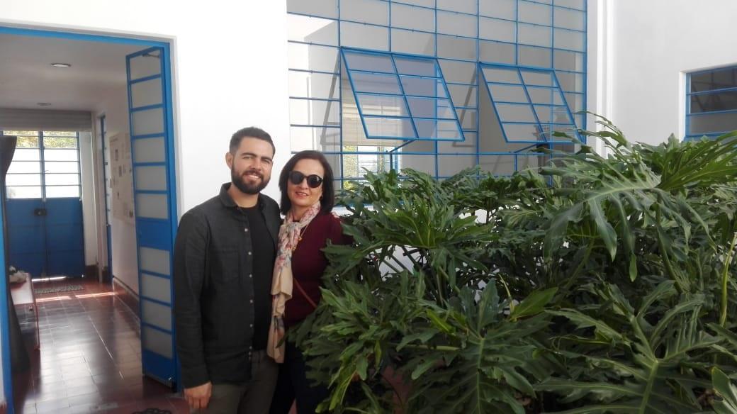 <p><b> 11 de enero de 2020  </b></p><p> Rodrigo Ibáñez y Rosa Elena Alarcón. </p>