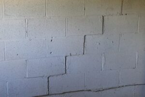 Foundation Wall Cracks   Scotch Plains, NJ   A-1 Basement Solutions